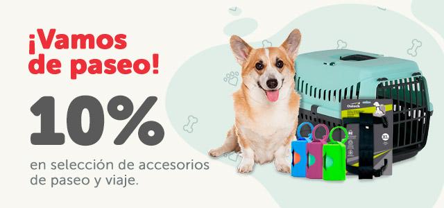10% dto. en los accesorios de paseo
