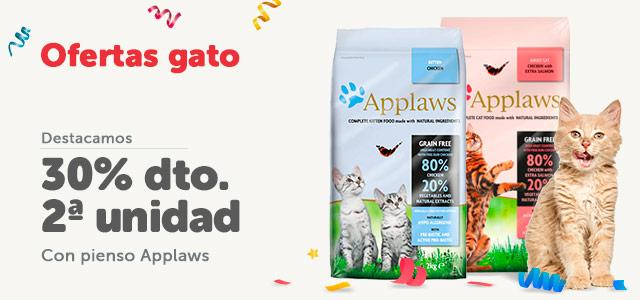 Applaws - 2 al 30% en pienso gato