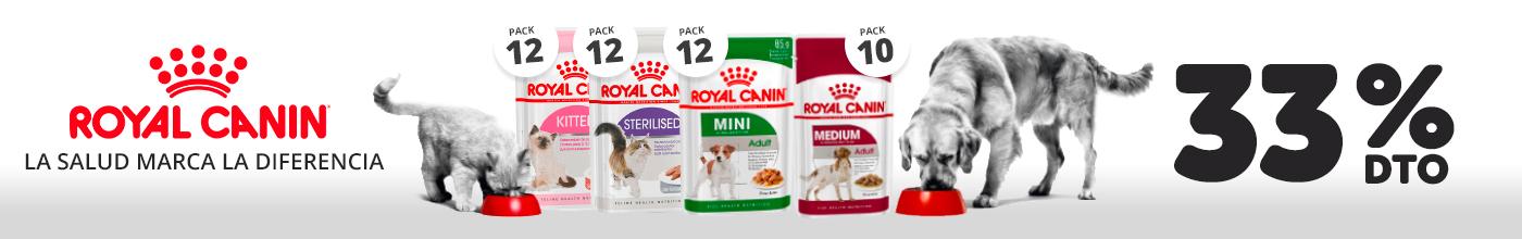 Royal Canin húmedo - 33% dto.