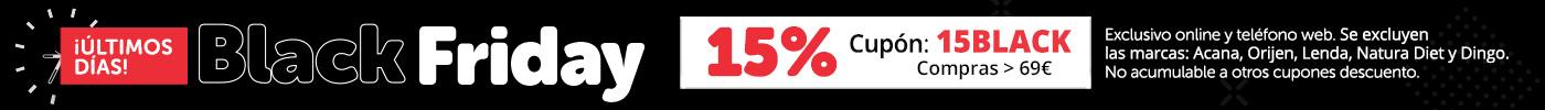 ¡Aprovecha ya! 15% en compras superiores 69€