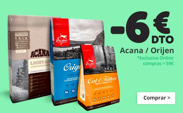 6€ de descuento con Acana y Origen
