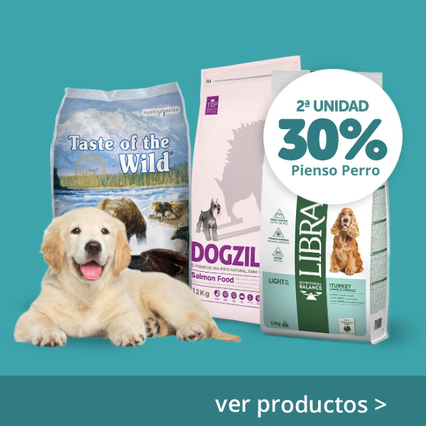 2ª al 30% pienso perro