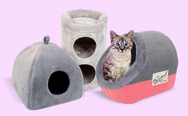 Las camitas más cómodas para gatos