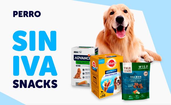 SIN IVA snacks perro