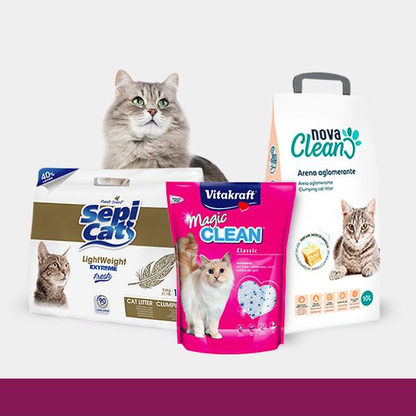 Ofertas de Arenas para gatos