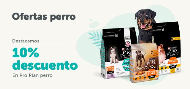 Ofertas perro - 10% de descuento con Pro Plan
