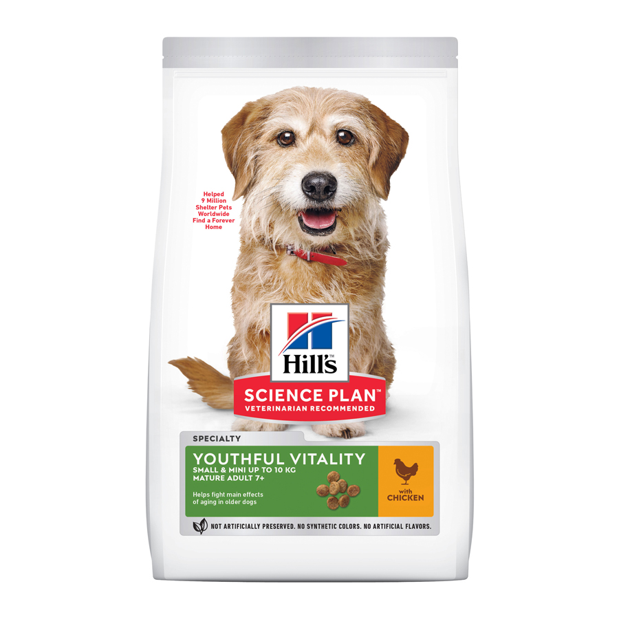 Hill's Science Plan Youthful Vitality mini adult + 7 1,5 kg, , large image number null