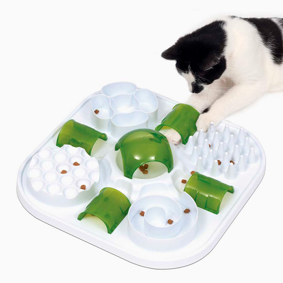 Comedero Catit Play Treat Puzzle para gato, , large image number null