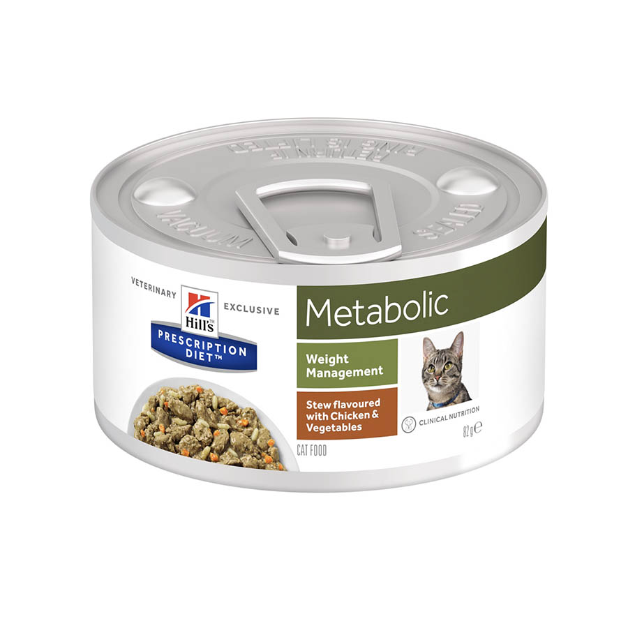 Hill's Prescription Diet Gato Metabolic estofado pollo 82 gr, , large image number null