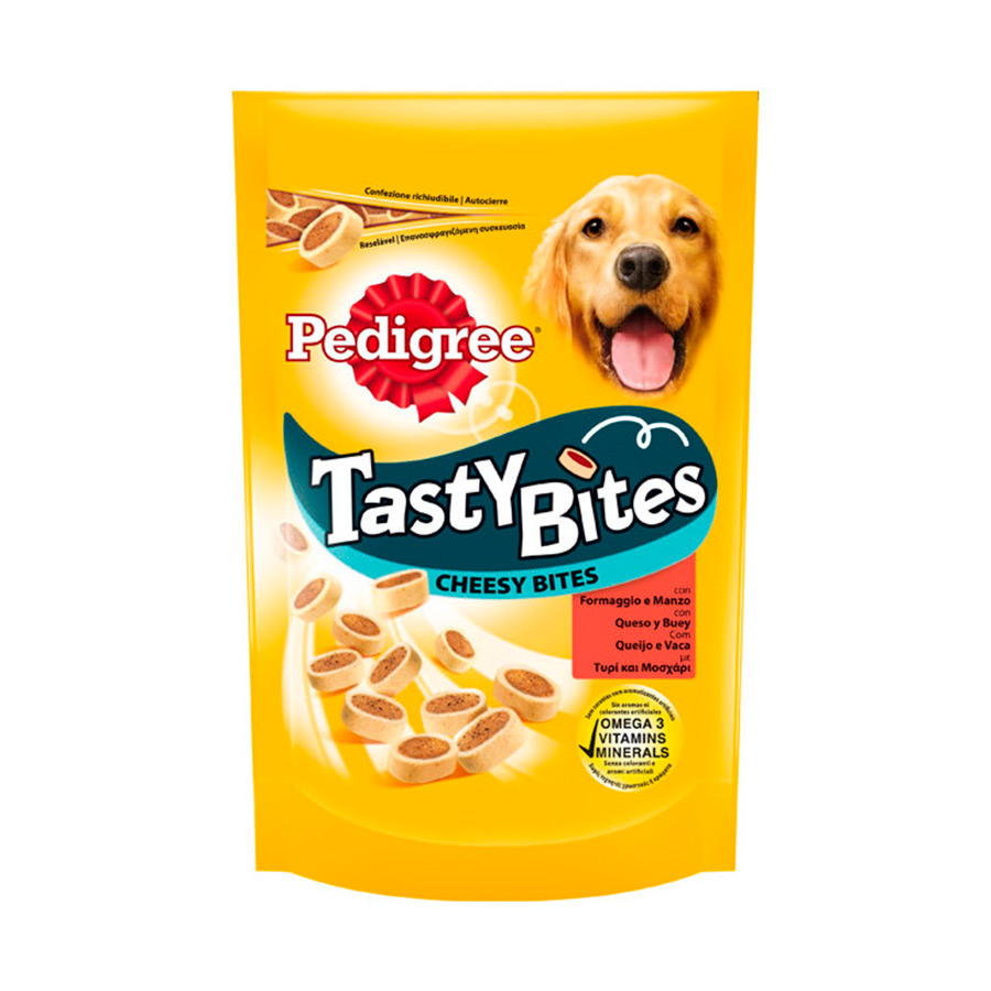 Snacks Pedigree Tasty Bites Cheesy Bites, , large image number null