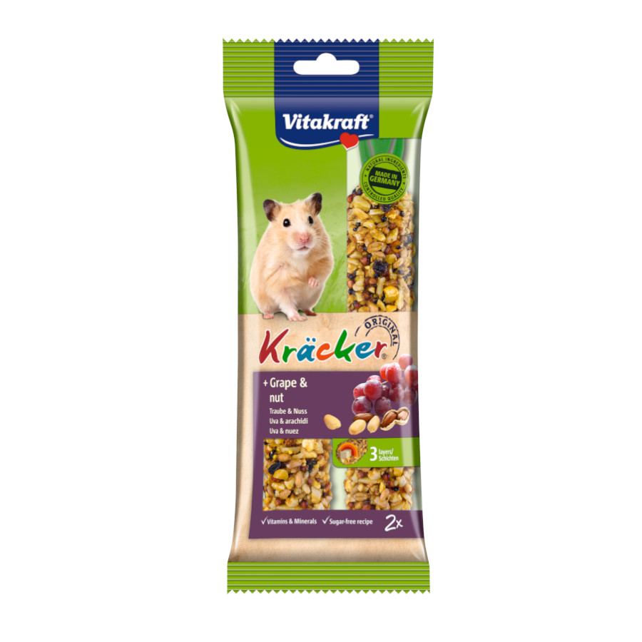 Barrita Vitakraft Emotion para Hamster - Frutos Secos, , large image number null