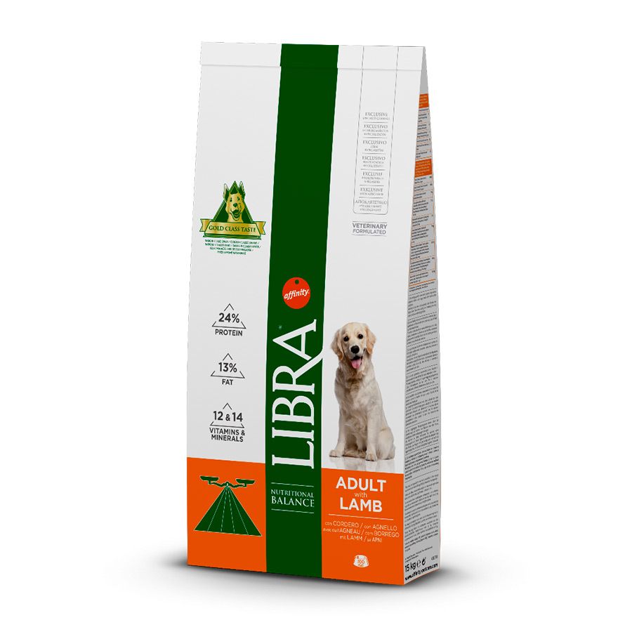 Affinity Libra Adult Cordero - 2x15 kg Pack Ahorro, , large image number null