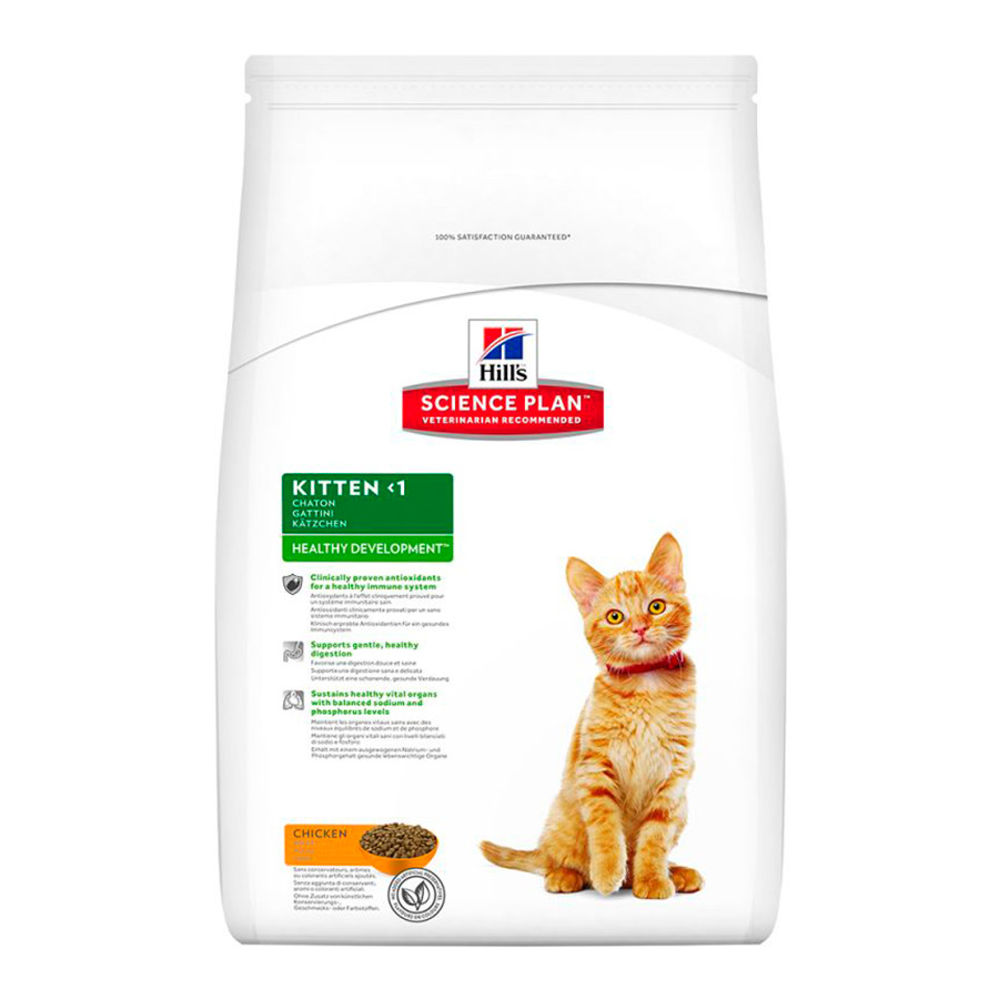 Hill's Feline Kitten pollo 1.5 kg, , large image number null