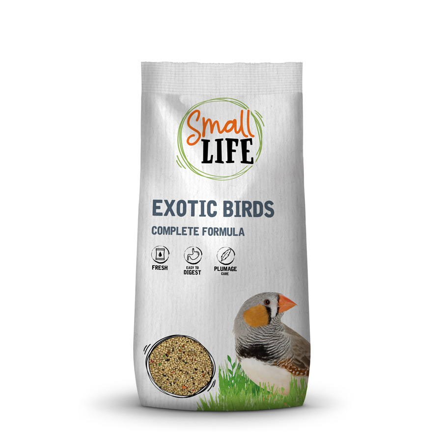 Alimento Small Life para aves exóticas 1 kg image number null