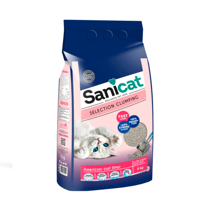 Arena Sanicat Selection Clumping 6 kg, , large image number null