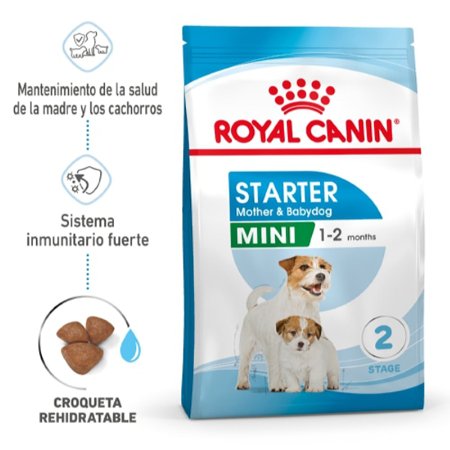 Royal Canin pienso Mini Starter Mother & Babydog image number null