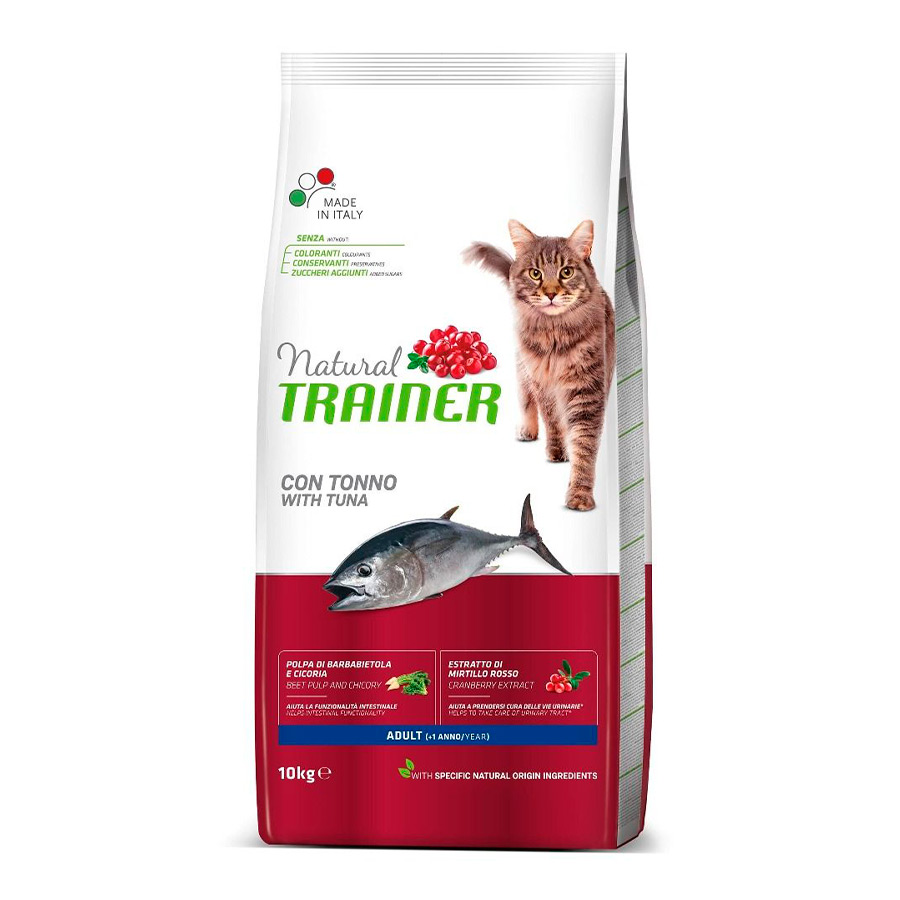 Pienso para Gatos Natural Trainer Cat Adult Atún, , large image number null