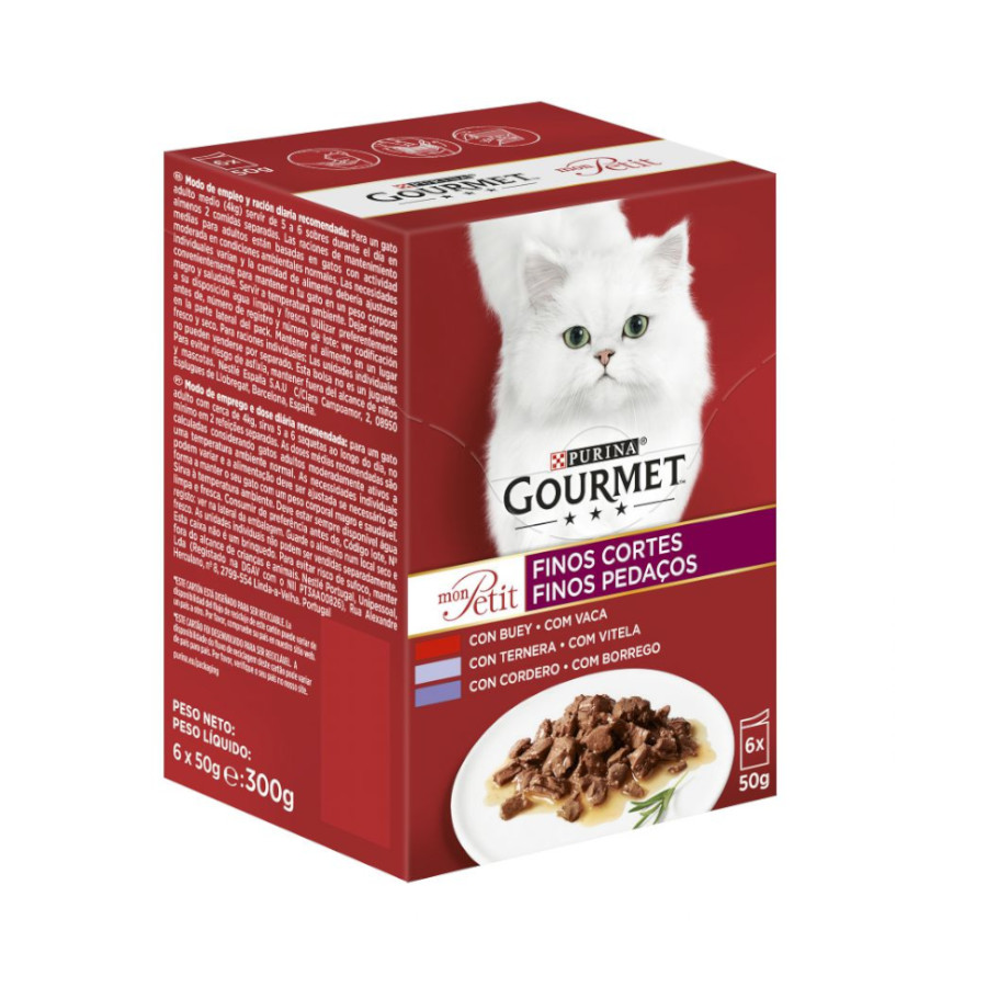 Gourmet Mon Petit 6 x 50 gr, , large image number null