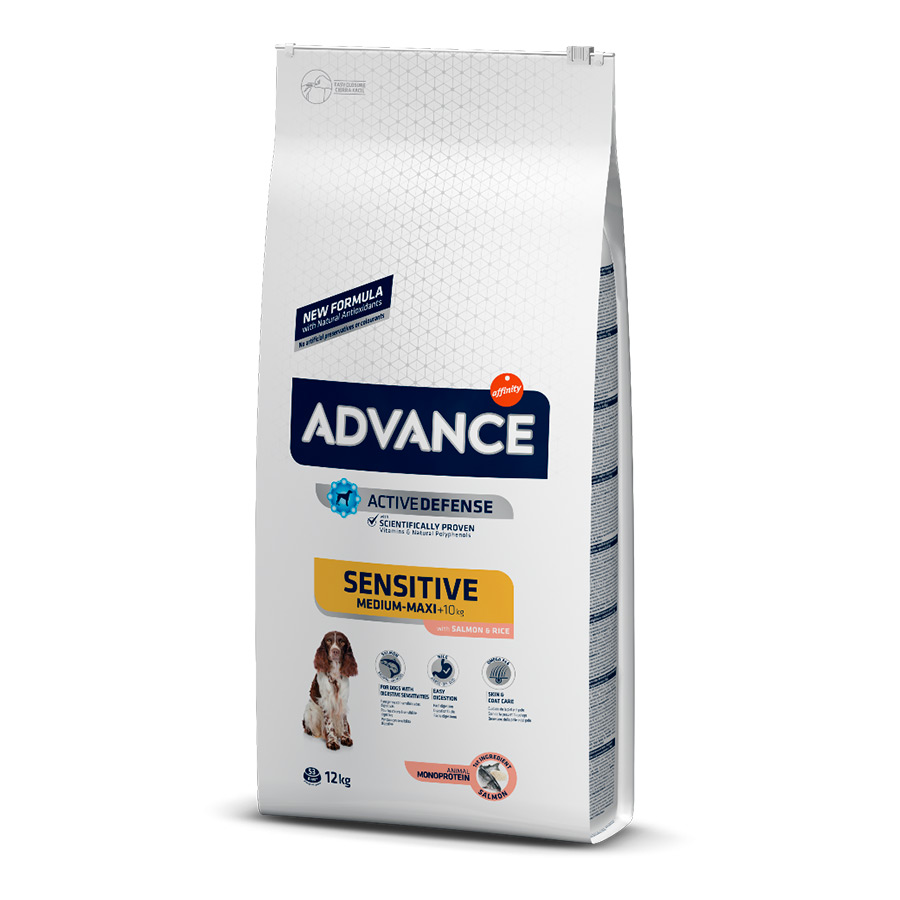 Affinity Advance Sensitive salmón y arroz, , large image number null