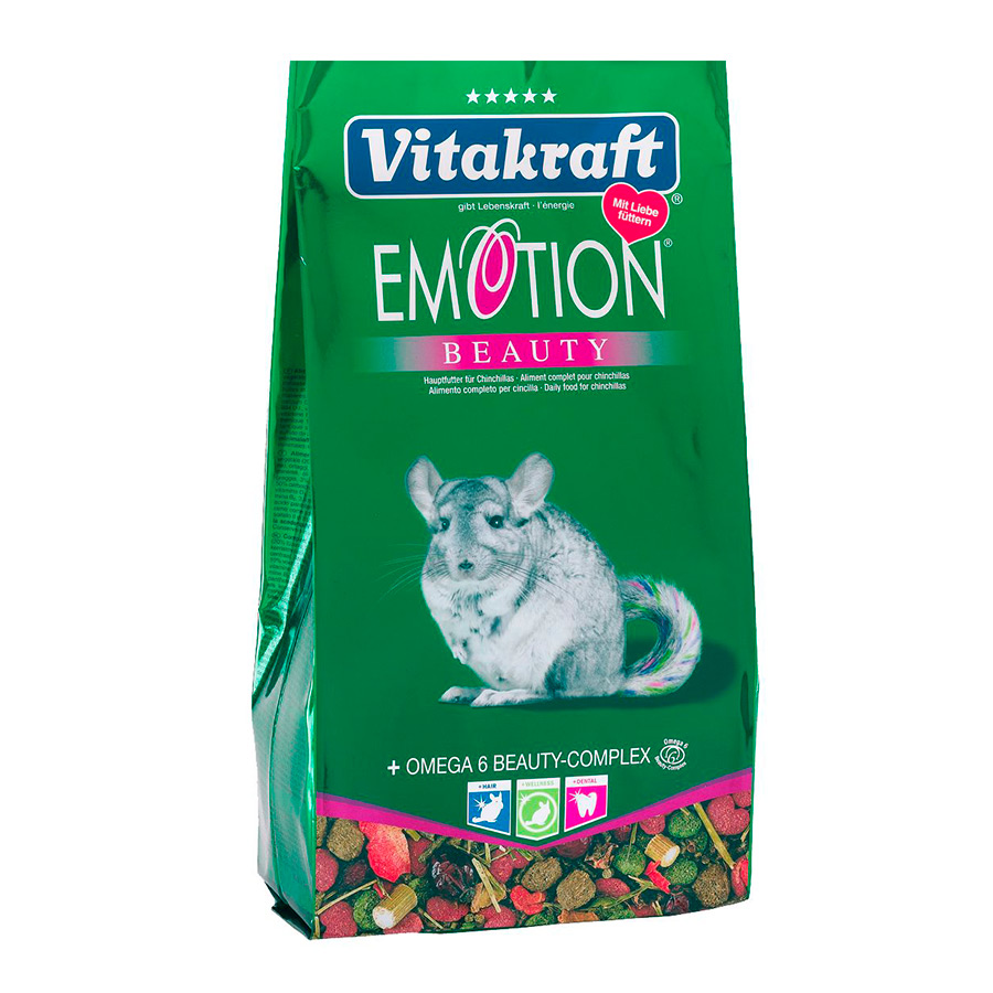 Vitakraft Menu Emotion para Chinchillas 600 gr, , large image number null