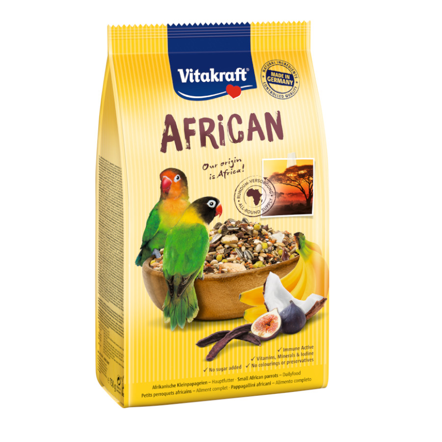 Vitakraft Alimento para Agapornis African 750 gr, , large image number null