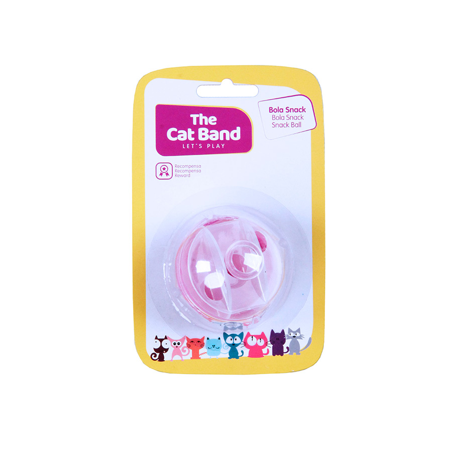 Juguete Snack Ball The Cat Band para gato, , large image number null
