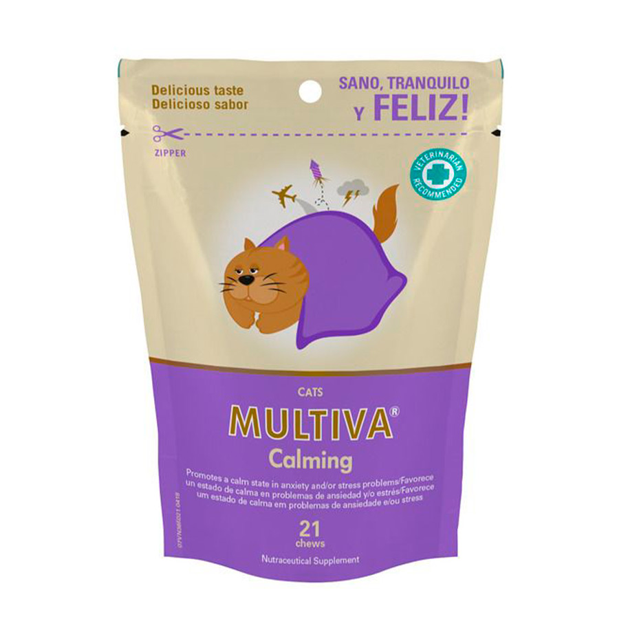 Calmante natural para gatos Multiva Calming, , large image number null
