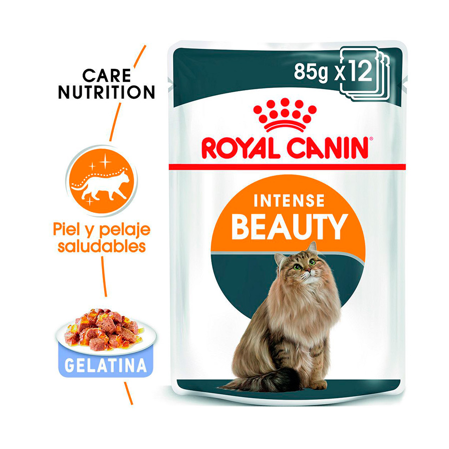 Pouches Royal Canin Feline Intense Beauty 85 gr, , large image number null