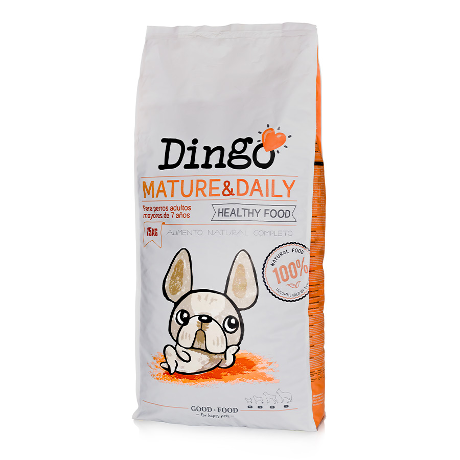 Dingo Mature & Daily pienso para perros senior, , large image number null
