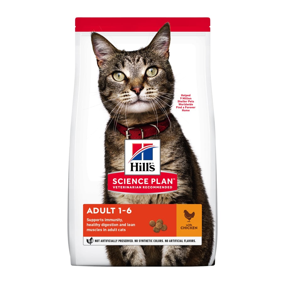 Hill's Gato Adult pollo image number null