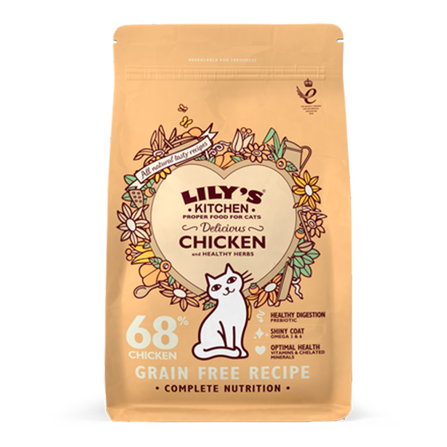 Lily's Kitchen Delicious Chicken comida para gatos, , large image number null