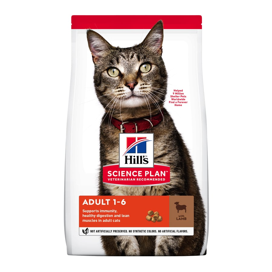 Hill's Gato Adult Cordero, , large image number null