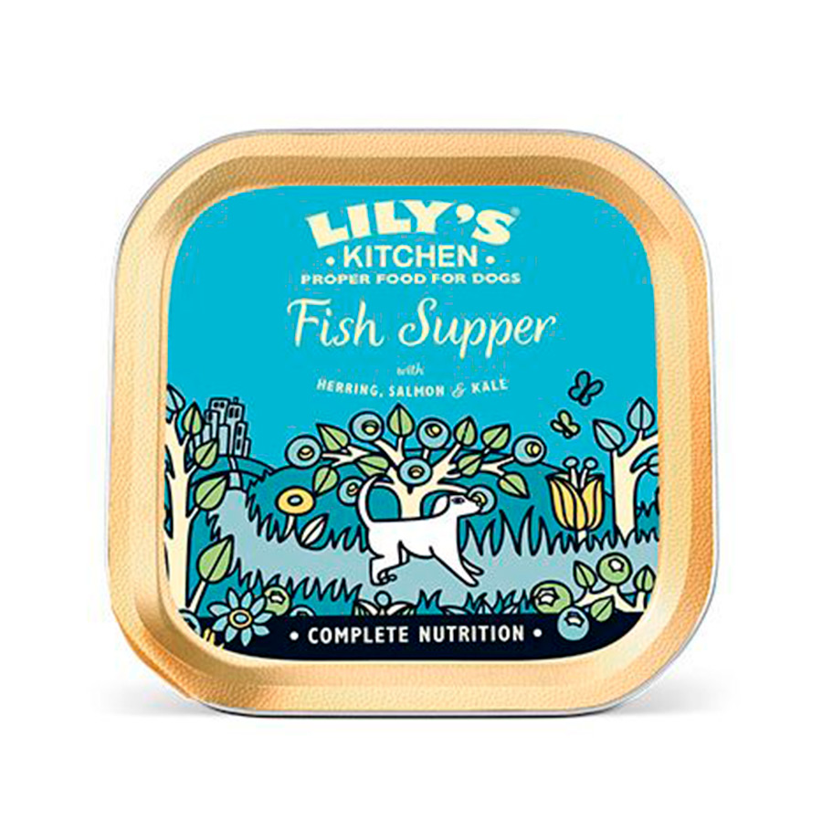Pack 10 Latas Lily's Kitchen Sensitive Fish Supper 150 gr, , large image number null