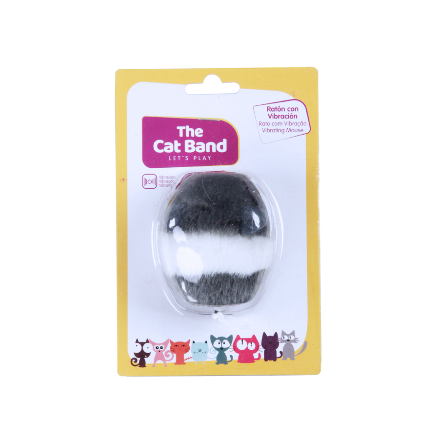 Juguete Vibrating Mouse The Cat Band para gato, , large image number null