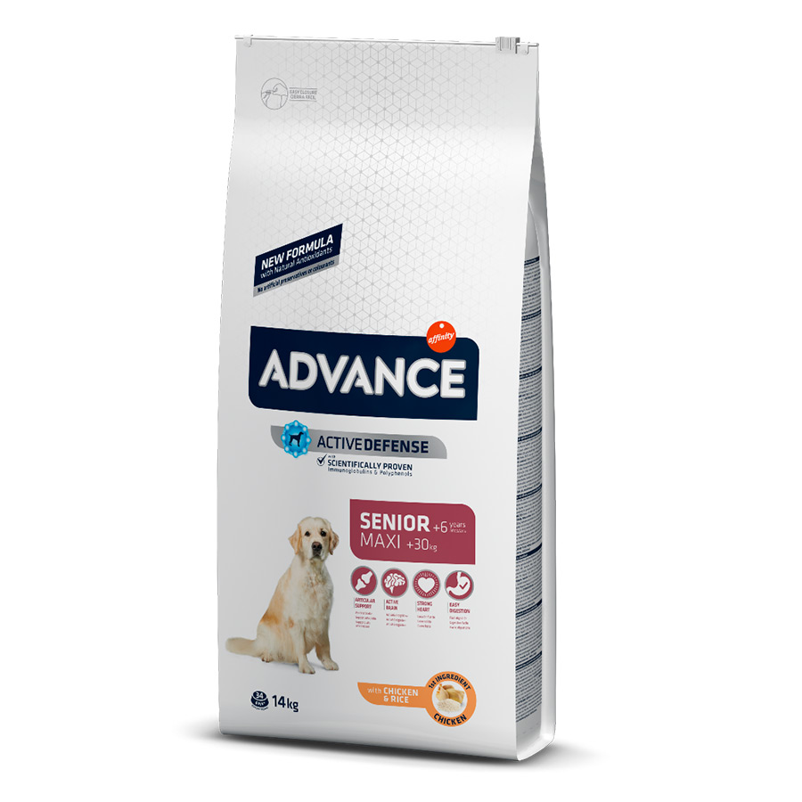 Affinity Advance Maxi +6 Senior pollo y arroz 15 kg, , large image number null