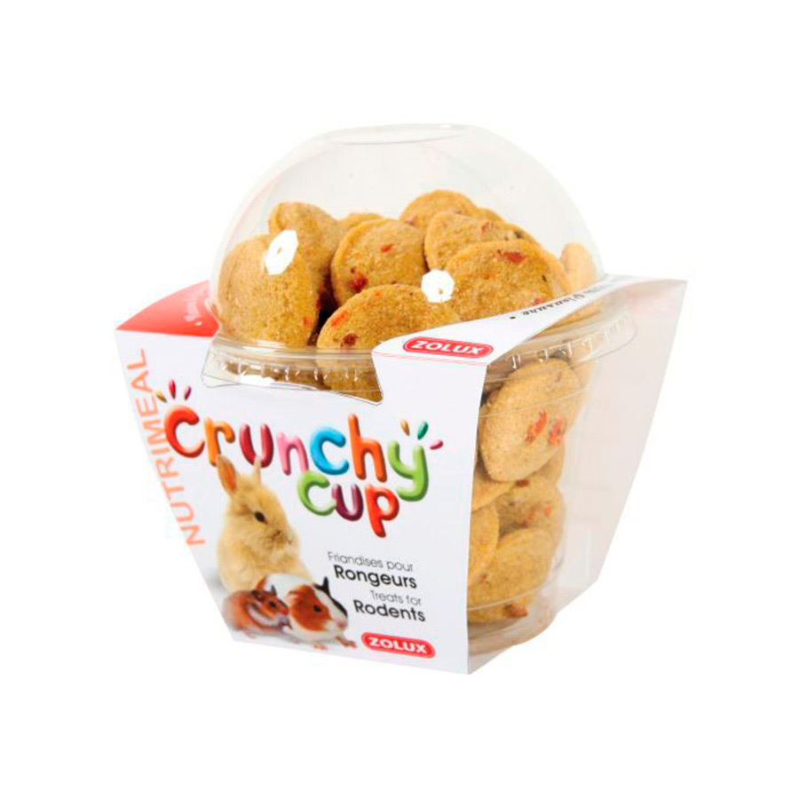 Crunchy Cup de Zolux Alfalfa, Remolacha y Zanahoria Roedores, , large image number null