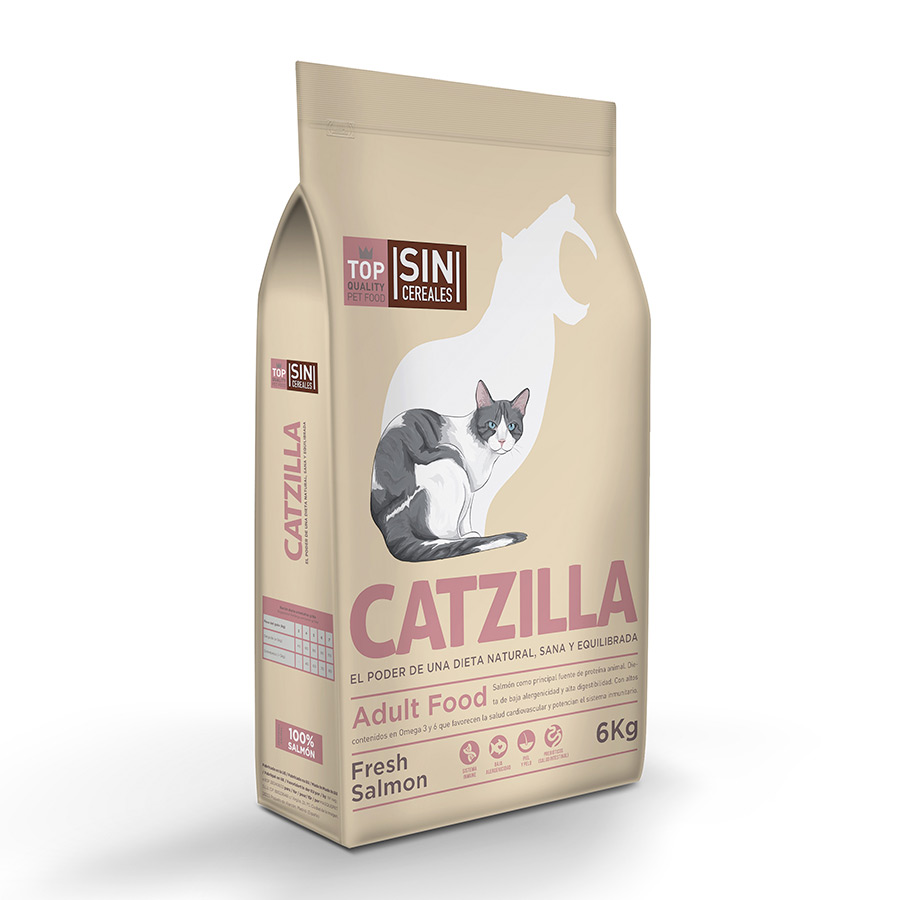 Catzilla Grain Free Fresh Salmón  , , large image number null