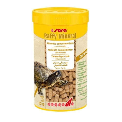 Sera Raffy Mineral alimento para reptiles image number null