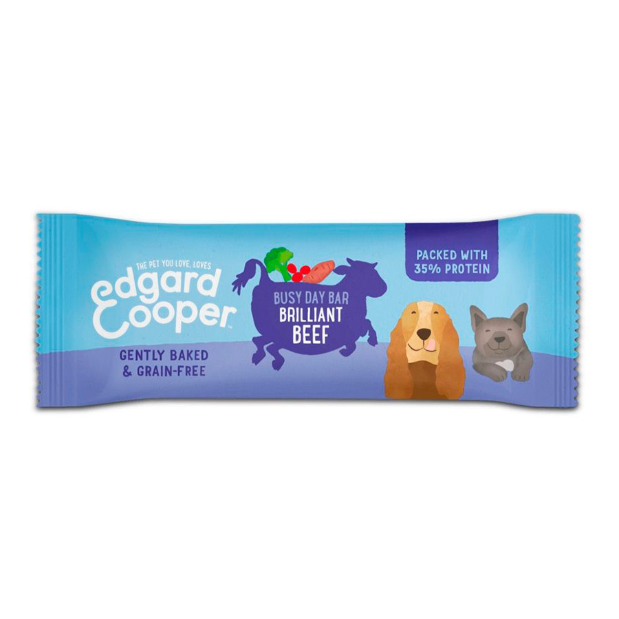Edgard & Cooper Busy Day Bar Snack para Perros 25 gr, , large image number null