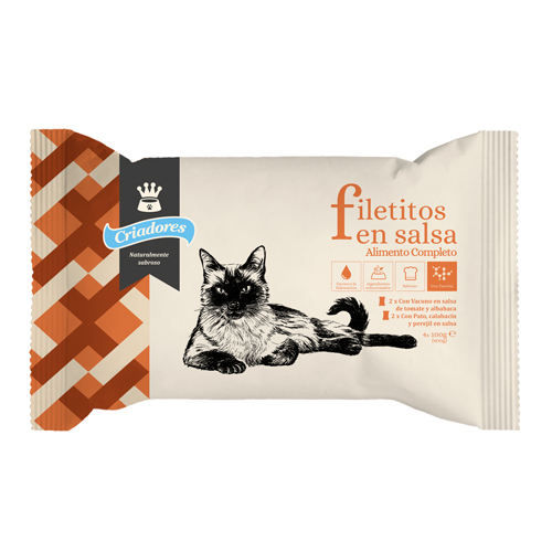 Criadores Multipack Filetitos húmeda para gatos image number null