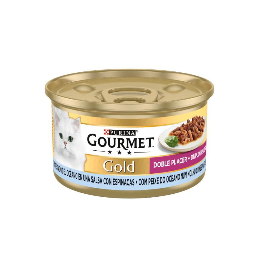 Pack 24 Latas Gourmet Gold Doble Placer 85 gr, , large image number null