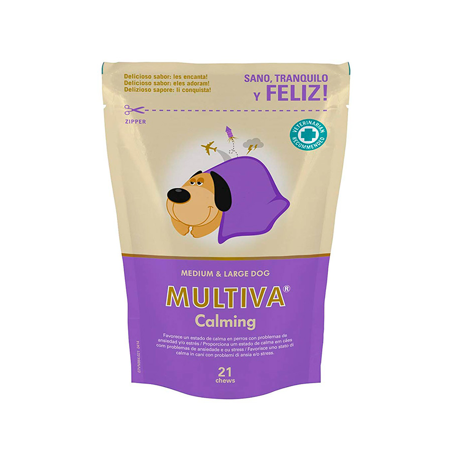 Calmante natural para gatos y perros Multiva Calming, , large image number null