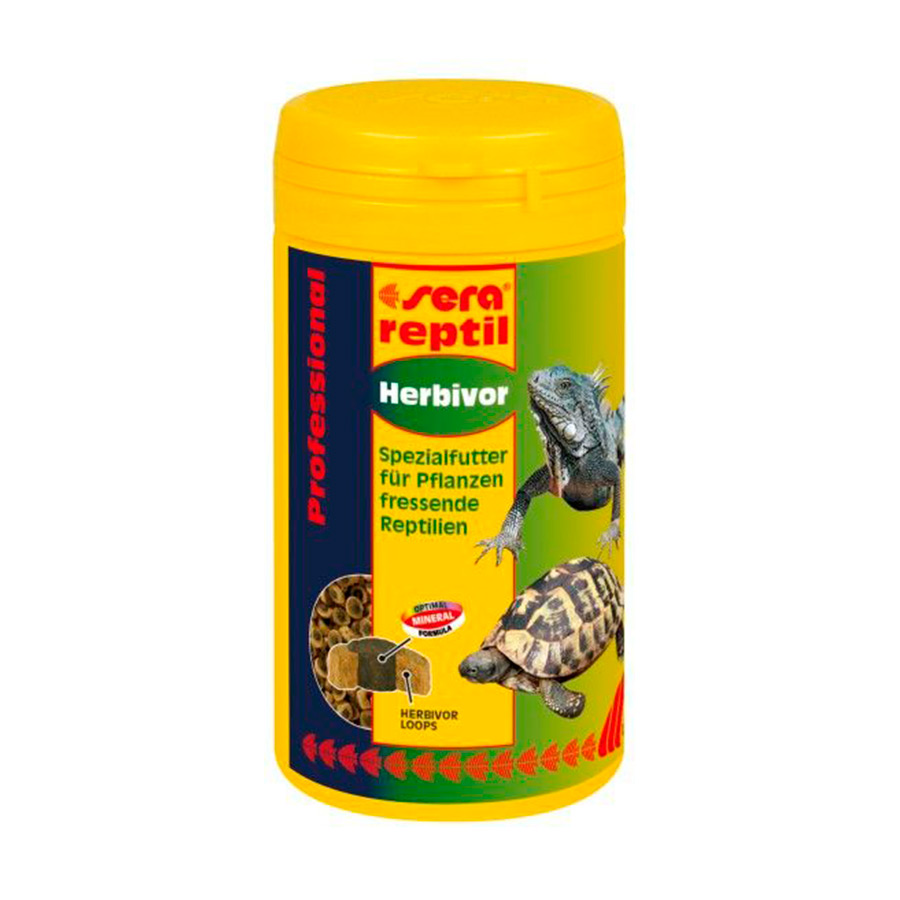 Alimento para Reptiles Herbívoros Professional Herbivor Sera 1000 ml, , large image number null