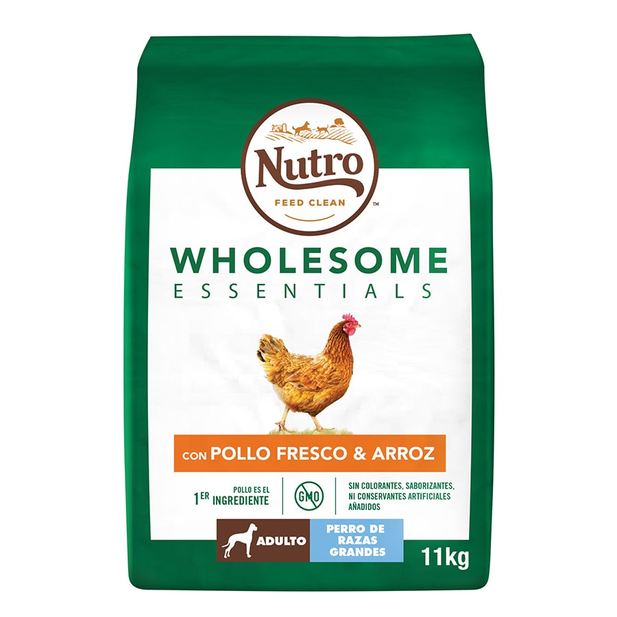 Nutro Wholesome Essentials Adult pollo razas grandes 11,5 kg image number null