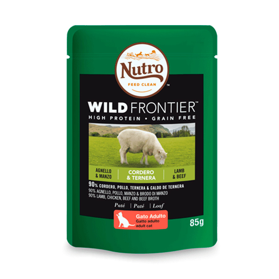 Nutro Wild Frontier Sobres para gato 85 gr, , large image number null