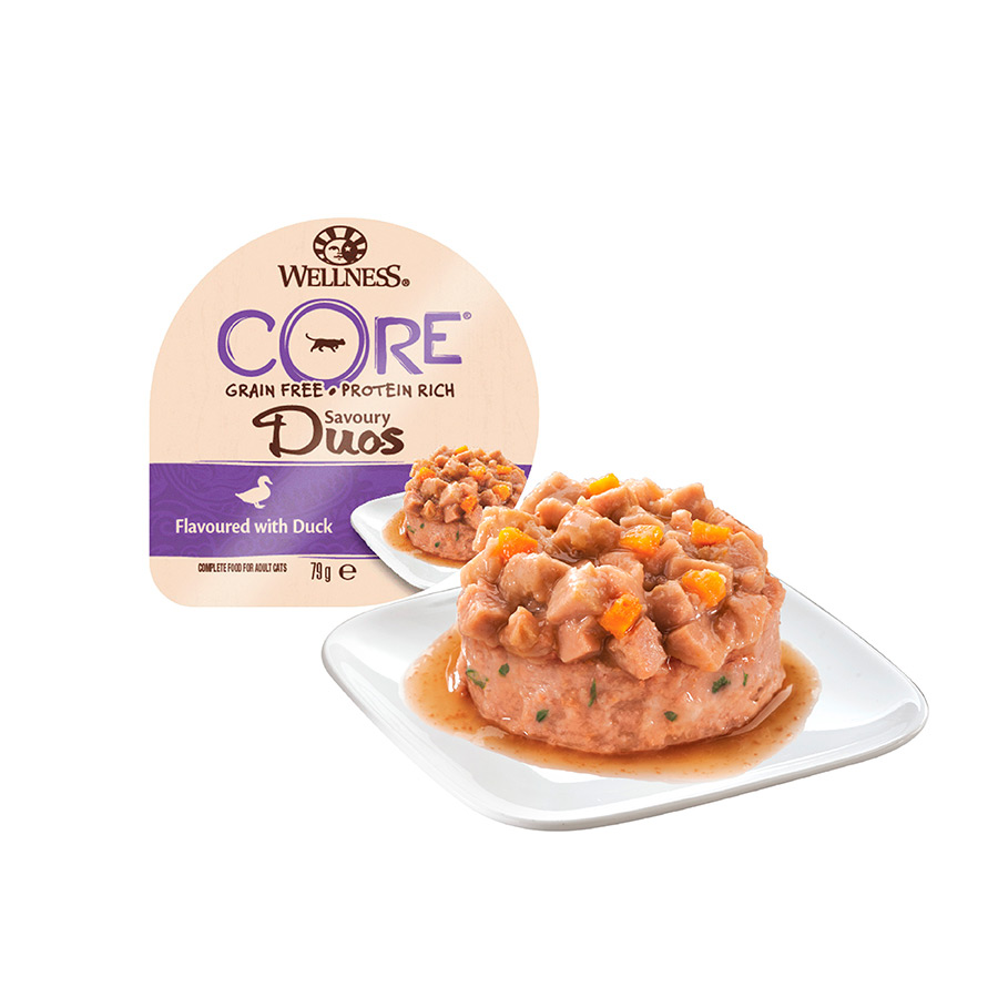 Wellness Core Feline tarrina Savory Duos 79 g, , large image number null