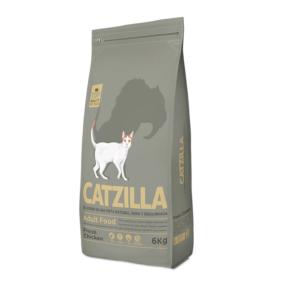 Catzilla Feline Adult pollo, , large image number null