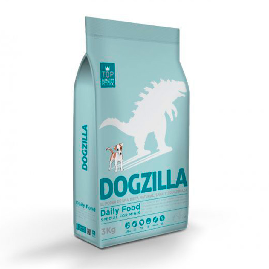 Dogzilla Daily Food Adult Mini Pollo y Arroz - 2x3 kg Pack Ahorro, , large image number null