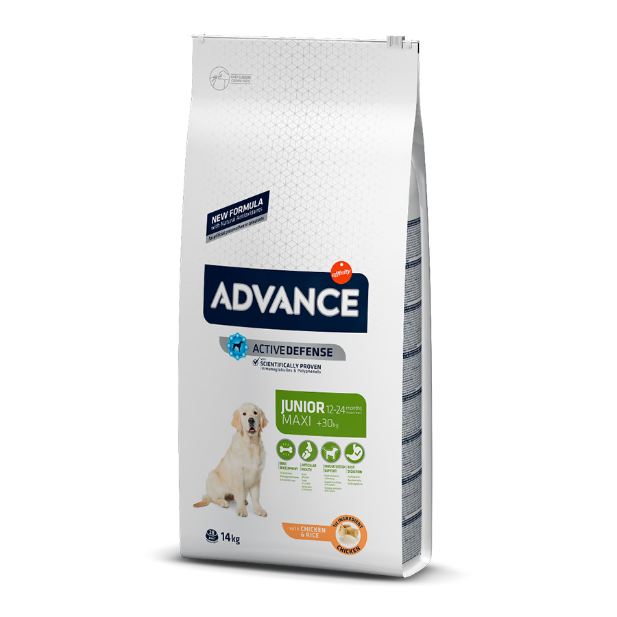 Affinity Advance Maxi Junior pollo y arroz 14 kg, , large image number null