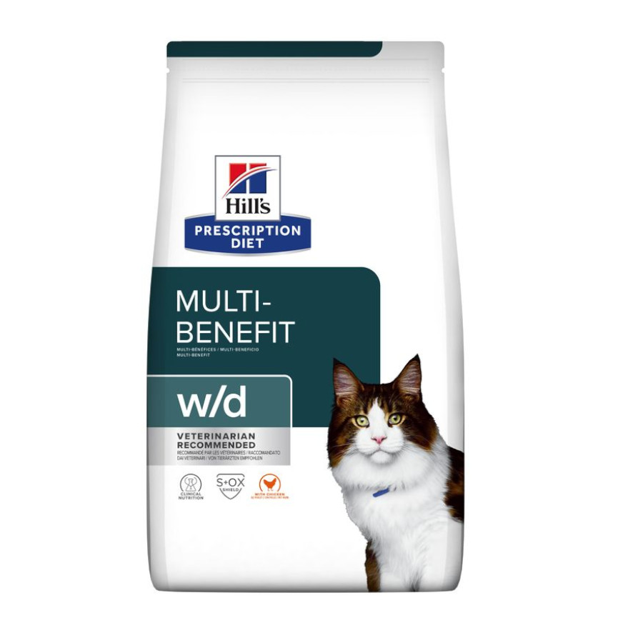 Hill's Feline Prescription Diet w/d, , large image number null